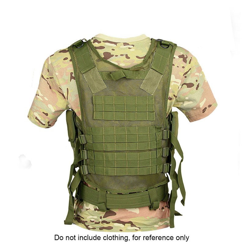 2016 green perfect CP tactical vests