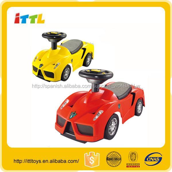 Bebé De Música Para Juguete Ride Volante On Carro Con Pequeño Niños Nnwvm0O8