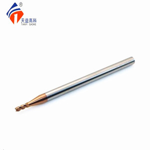 cnc lathe machine tools solid square long flute carbide end mill