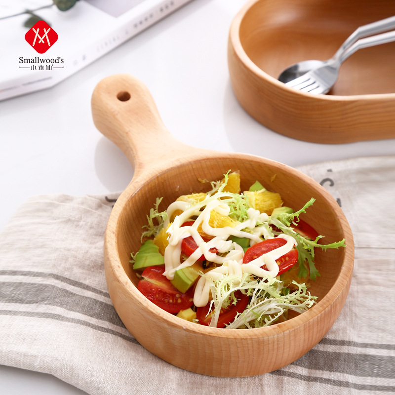New Arrival Salad Bowl Wooden Appetizer Bowl Wooden Bowl for Tapas
