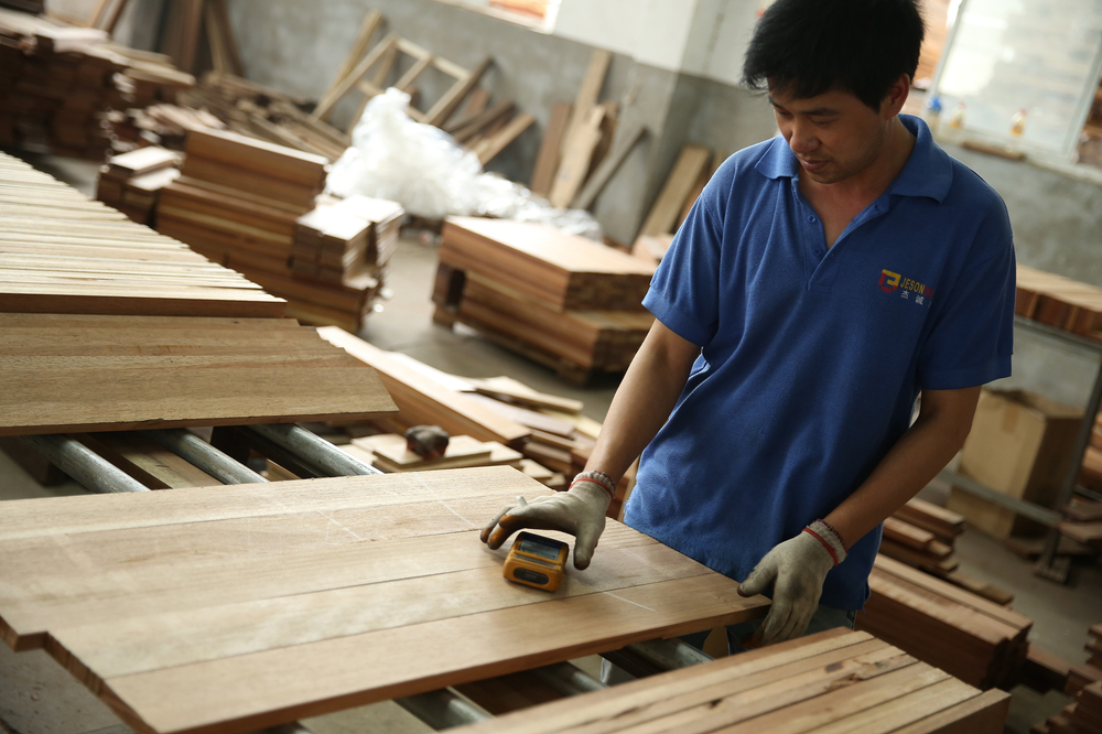 Engineered Ammonia Smoked Fumed Oak Hardwood Flooring Hot