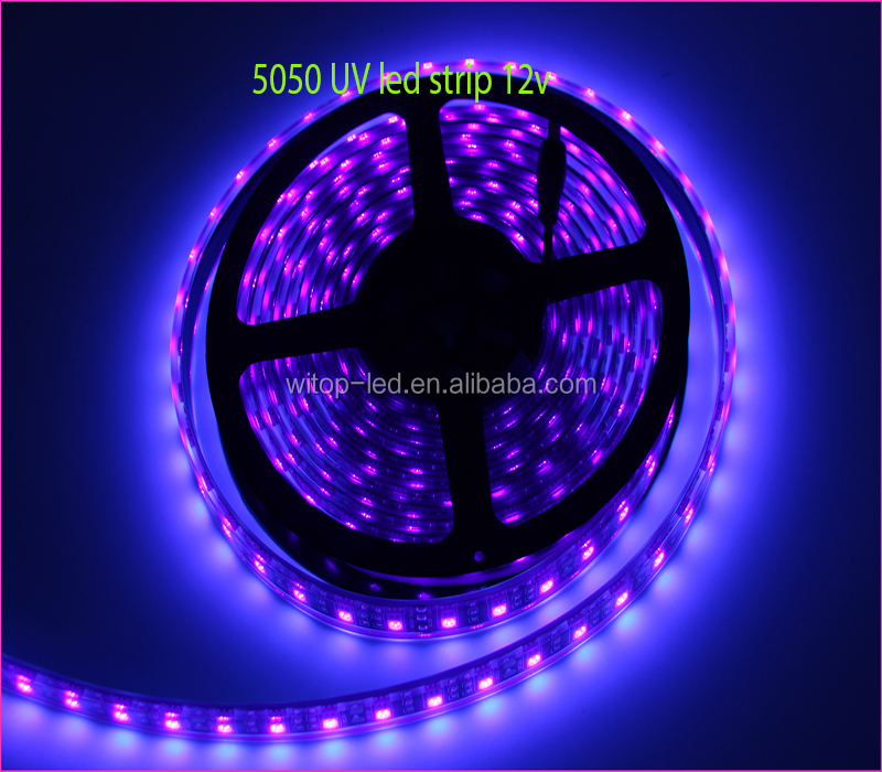 half off 7ab4a 65076 High Lumen 5050 Smd Uv 365nm Purple 5m/reel Led Strip Light Ip65 Waterproof  12v Purple Led Strip Light - Buy Uv Strip Led Light,Uv Strip Light,Uv Led  ...