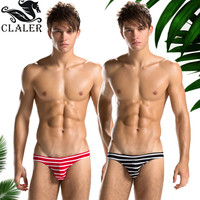 Wholesale New fashion briefs cotton custom men underwear sexy t-back strip underwear for men