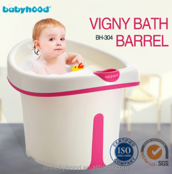 toddler bath tub with seat,deep baby bath bucket, big plastic baby ...