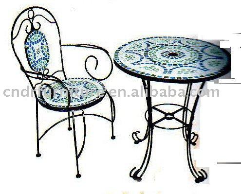 Rond De Table Mosaïque - Buy Mosaïque Meubles,Salon De Jardin ...