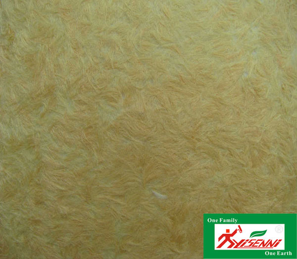 YISENNI A-008 cotton fiber interior decor wall decoration material manufacturing wall coating