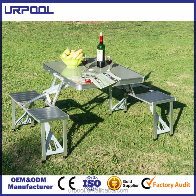 Portable Aluminum Alloy Folding Table Chairs Set Outdoor Picnic Party Dining Camping For 4 Person Buy Folding Table Chairs Set Aluminum Alloy Folding Table Chairs Folding Table For 4 Person Product On Alibaba Com