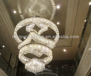 Large strass crystal chandelier