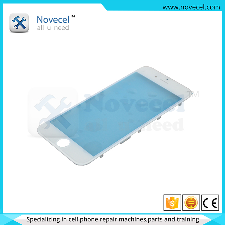 For iPhone 6 6 plus 6s 6s plus front glass +original frame for LCD replacement parts