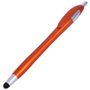 INTERWELL BP3286 Promotional Touch Pen, Retractable Orange Stylus with Pen