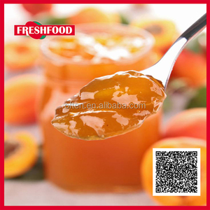 Good taste yellow peach Fruit jam/fruit preserves export to USA