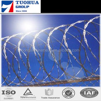 Razor Wire Razor Ribbon Barbed Wire 18\
