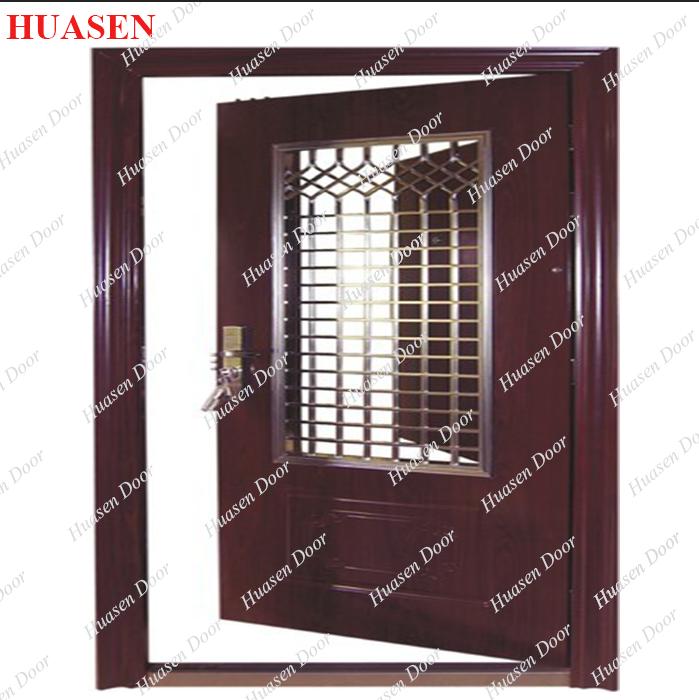 Safety main door grill design buy steel grill door for Main door design catalogue