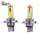 Car halogen bulb high low beam yellow h4 halogen bulb 12v 100/90w