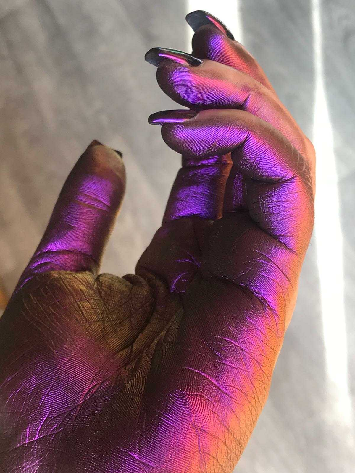 Sheenbow Eyeshadow Pigments chameleon Loose Powder