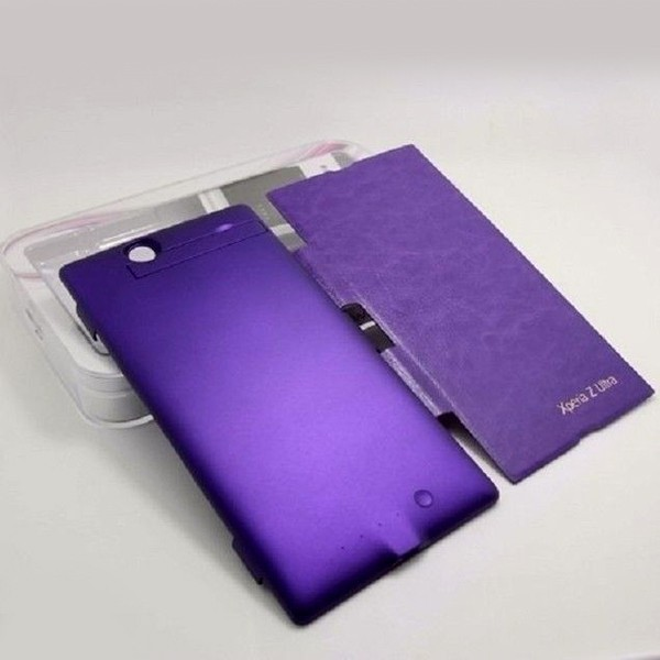 4500mAh Purple For Sony XL39h Xperia Z Ultra External ...