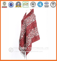 winter woven 100% acrylic wholesale digital printing women scarf