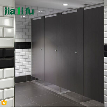 Solid Grade Laminate Used Toilet Door Bathroom Partitions