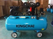 KINGCHAI FACTORY BEST SELLER 115 PSI 8 BAR ELECTRIC AND GASOLINE POWER AIR COMPRESSOR