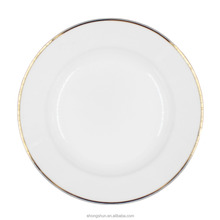 Plate ceramic wholesale,color plate manufacturer in China ,sliver plate for wedding