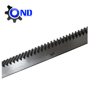High precision rack and pinion gears