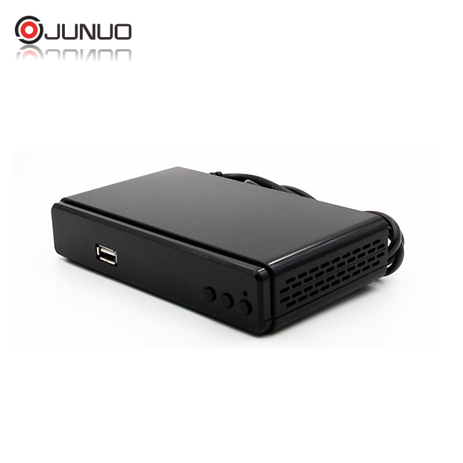 Junuo Manufacturer hd 1080p Mstar 7T01 free to air dvb-t2 set top box for italy france and colombia