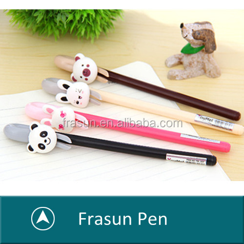 Novety Amimal Up Gel Ink Cartoon 0.38 Tip Custom Logo Projector Pen