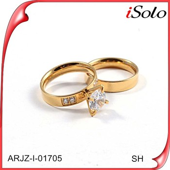 Dubai Couple Wedding Rings Latest Design Diamond Ring For Sale