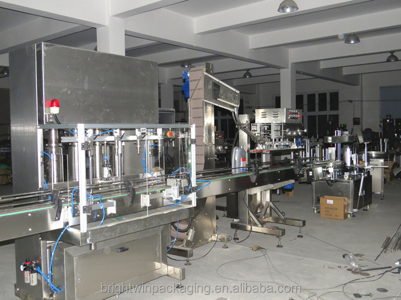 factory price automatic bottled liquid disinfectant filling machine