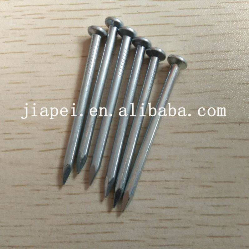 Wire Collated Nails Metal For Locks Nails Black Smooth Shank Concrete Nail