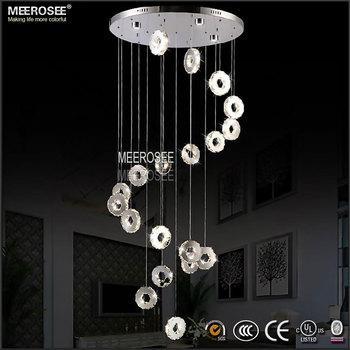 Ceiling decoration long crystal chandelier raindrop round ceiling ceiling decoration long crystal chandelier raindrop round ceiling lamp md2472 l19 aloadofball Images