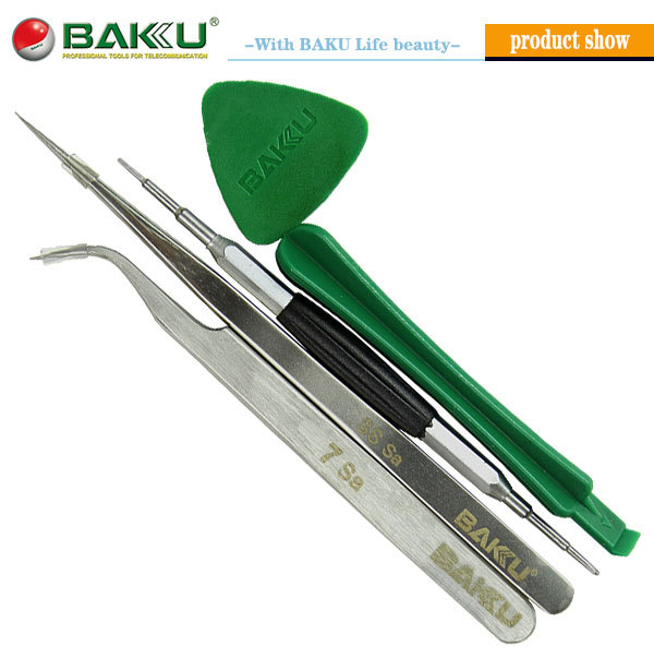 5 in 1 set Iphone opening tools set for repairing mobile phone(BK-7285)