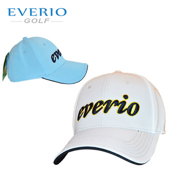 2e025f09567 EVERIO GOLF baseball cap from china oem logo waterproof cap dry fit shiny  color golf hat