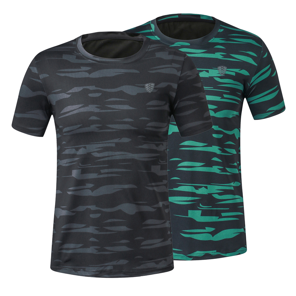 Men Custom Eco-Friendly Quick Dry Breathable Sublimated Running Gym T Shirt