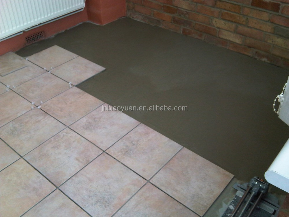 Waterproofing Vinyl Floor Cement Based Tile Adhesive