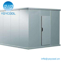 Refrigerator Freezer Storage Room cold storage for meat/fish/fruit/vegetable/flower