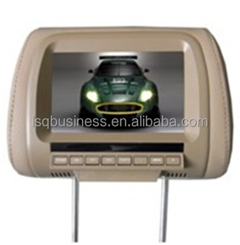 7'' Headrest LED Car Monitor with Pillow (XM780)