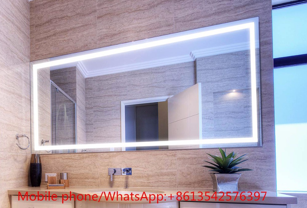 Led Touch Screen Wash Basin Mirror With Backlit Light