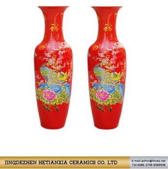 115cm Tall Giant Floor Standing Vases Large Chinese Floor Vase Buy