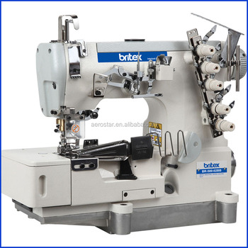 4040bb High Speed Flat Bed Interlock With Tape Binding Edge Interesting Domestic Industrial Sewing Machine