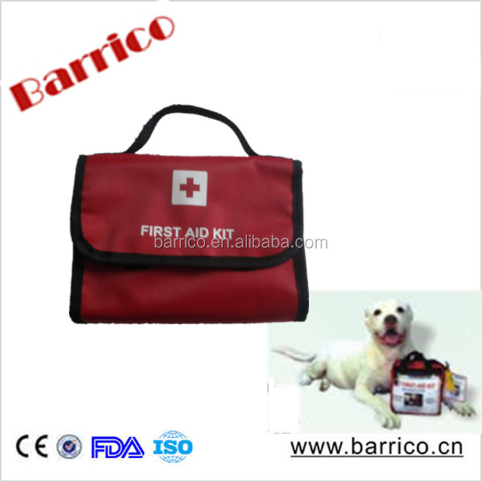 Fashion Pet First Aid Kit with CPR Mask CE/FDA approved