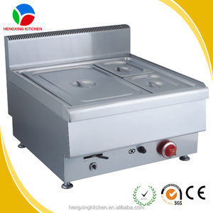 gas bain marie prices reasonable/counter top soup pot/keep food warm stainless steel bain marie