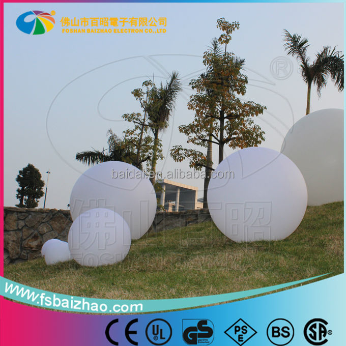 50cm pool ball lights garden lights with 16 colors