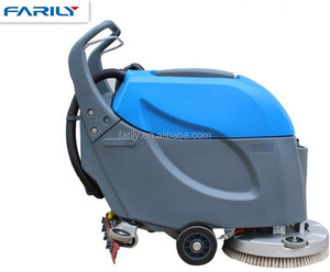 FL50 floor cleaning equipment scrubber machine auto rotary floor scrubber for hospitals