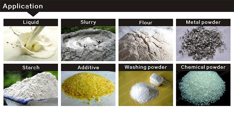 quality reliabled flour/ cassava starch sieving machine