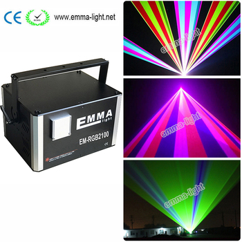 10w Rgb Car Laser Light Show Bulbs Parts Dj Disco Party Lighting Outdoor Stage