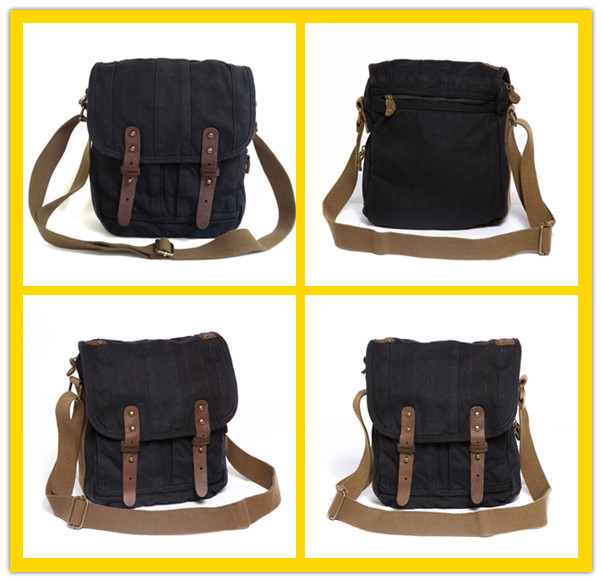 0505 Shop Bags Online Retro Black Casual Small Canvas Side Bags ...