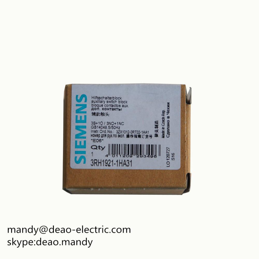Siemens Sirius 3RH1921-1FA22 Hilfsschalter-Block 4-polig 2S 2Ö Auxiliary Switch