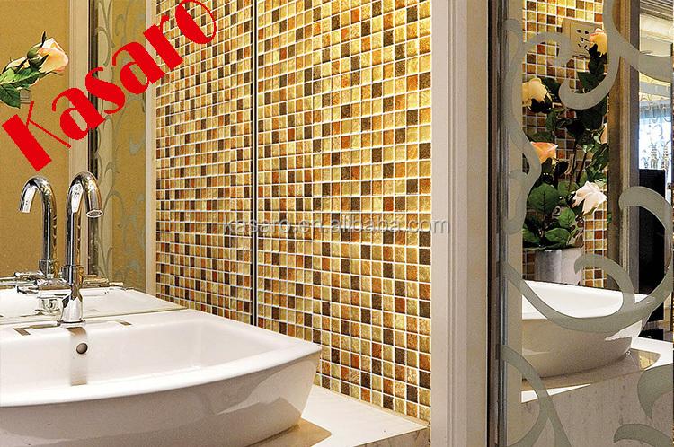Materiale da costruzione vendita calda cristallo oro pietra