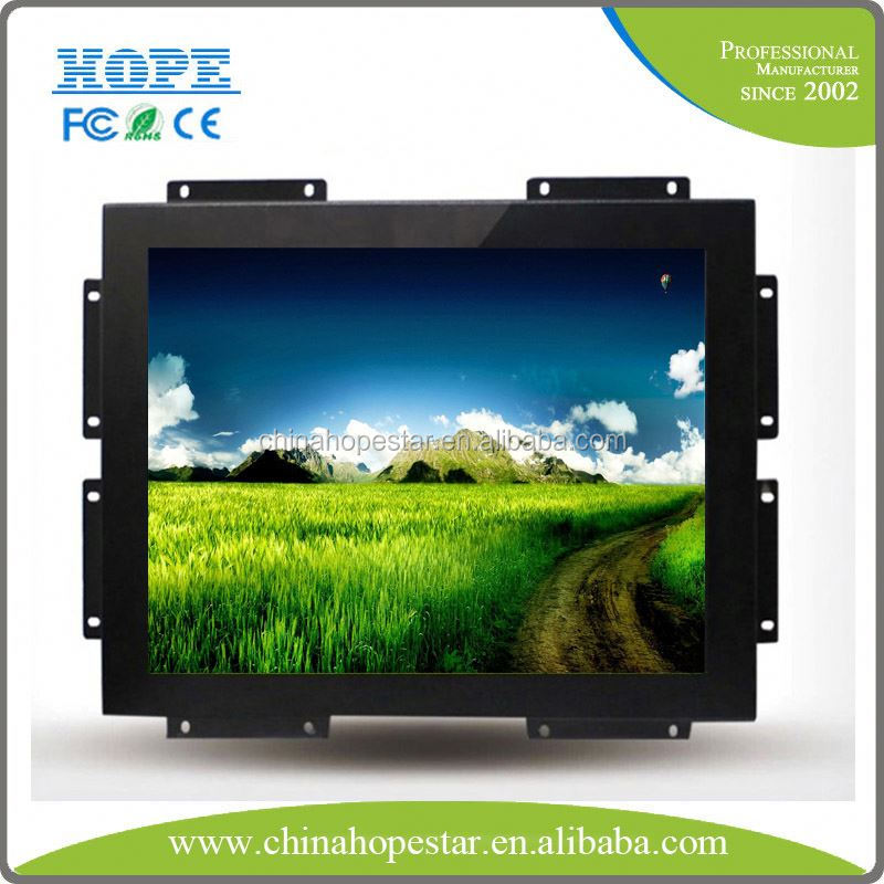 17 21.5 inch water proof open frame monitor touch screen